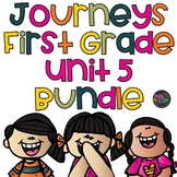 Unit 5 Journeys Bundle First Grade Supplement Activities