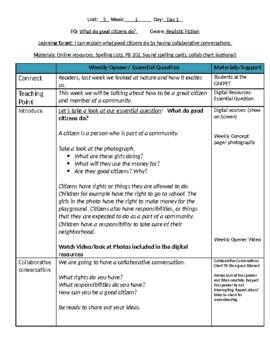 Unit 5 Bundle Lesson Plans- Wonders Reading 2nd Grade Weeks 1-5