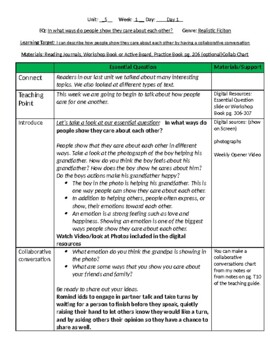 Unit 5 Bundle Lesson Plans- Wonders Reading 4th Grade Weeks 1-5
