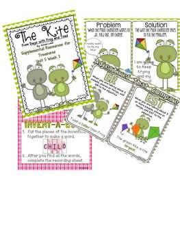 Unit 5 Bundle Pack- Supplemental Resources for Treasures First Grade