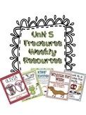 Unit 5 Bundle Pack- Supplemental Resources for Treasures F