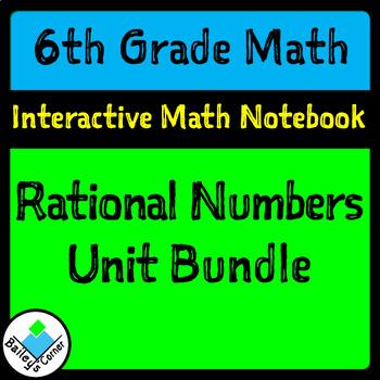 Unit 5 Bundle: Rational Numbers