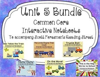 Unit 5 Bundle Common Core Interactive Notebook Journal