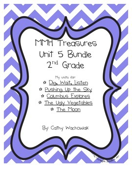 Unit 5 Bundle Treasures MMH 2nd Grade