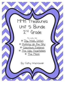 Unit 5 Bundle Treasures MMH 2nd Grade