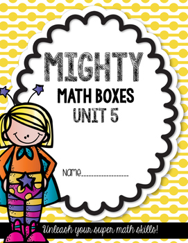 Unit 5 Challenge Math Boxes for Everyday Math 4,1st grade