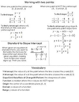 Unit 5 Cheat Sheet