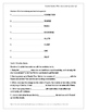 Unit 5, Cluster 1 Blue Edge Vocabulary Practice Worksheets