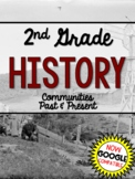 2nd Grade HISTORY Past & Present Communities Distance Learning Google Classroom
