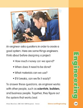 Unit 5: Engineering (Skill Sharpeners: Science)