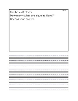 Unit 5 Everyday Math Message Notebook