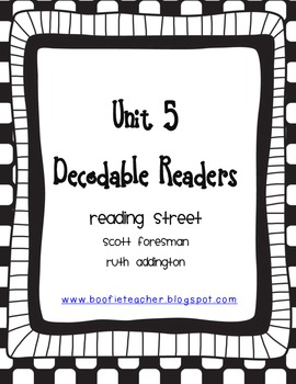 Unit 5 Fluency Passages for Decodable Readers Reading Street