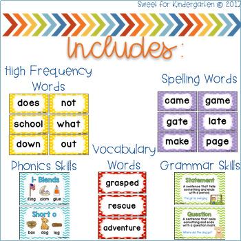 Reading Wonders First Grade- Unit 5 Focus Wall