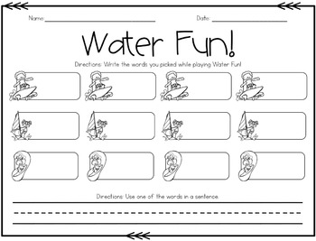 Unit 5 Games for Reading Wonders Grade 1
