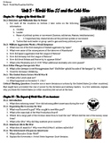 Unit 5 Guided Reading Questions - World War II and the Cold War
