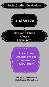 Unit 6: How can a Citizen Affect a Community