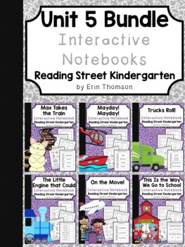 Unit 5 Interactive Notebooks Bundle ~ Reading Street Kindergarten