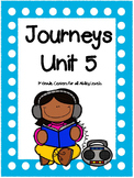 Unit 5, Journeys, 1st Grade, Centers For All Ability Levels, 2014 and 2017