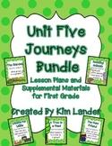 Unit 5 Journeys First Grade Bundle Lesson Plans