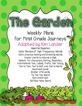 Unit 5 Journeys First Grade Bundle Lesson Plans