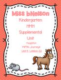 Unit 5 Lesson 22 Kindergarten Journeys HMH Supplemental Unit