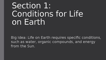 Unit 5 Life in Our Solar System