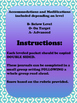 Unit 5 Main Selection Differentiated Journal- Grade 1 Read