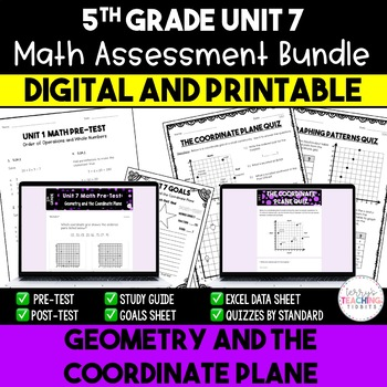 Geometry and the Coordinate Plane Math Resources *5th Grad