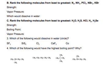 Unit 5 Packet - covalent bonding and intermolecular forces
