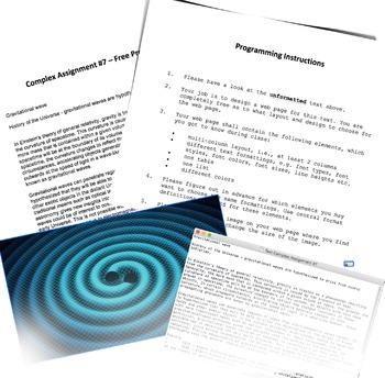 Unit 5: Practical Part – Immersion and Enhancement Complex Assignment #7
