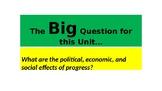 Unit 5: Progress & Change, Topic 1 Industrialization & Urb