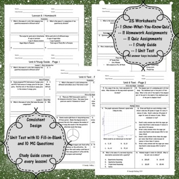 Unit 5-Proportional Reasoning w/ Ratios and Rates-Worksheets-6th Grade Math  TEKS