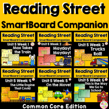 Unit 5 Bundle Common Core Edition SmartBoard Companion Kindergarten