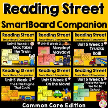 Unit 5 Common Core Edition SmartBoard Companion Kindergarten