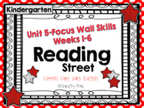 Unit 5 Reading Street Kindergarten Focus Wall