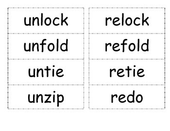 Unit 5 (Reading Street) Phonics Practice Word Cards