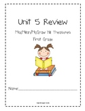 Unit 5 Review Packet for Macmillan/McGraw-Hill Treasures, First Grade