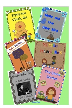 Reading Street Unit 5 SMARTboard Story Intro BUNDLE