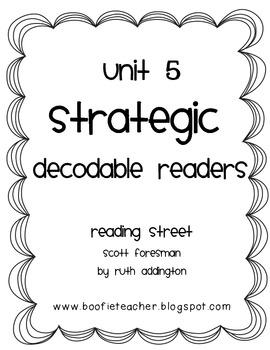 Unit 5 STRATEGIC Decodable Readers Fluency Passages