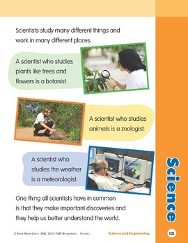 Unit 5: Science (Skill Sharpeners: Science)