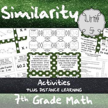 Unit 5 - Similarity - Activities - 7th Grade Math TEKS