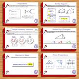 Unit 5– Similarity; Summary Sheets