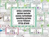 Unit 5 Spelling Games Scott Foresman Reading Street First Grade 2008 Edition