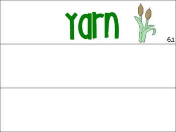Unit 5 Spelling Word Cards