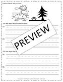 Unit 5 Test BUNDLE - Reading Street 1st Grade Tests: Weeks 1-6