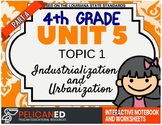 4th Grade - Unit 5 Topic 1 – Industrialization and Urbanization – Part A