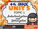 4th Grade - Unit 5 Topic 1 – Industrialization and Urbanization – Part B