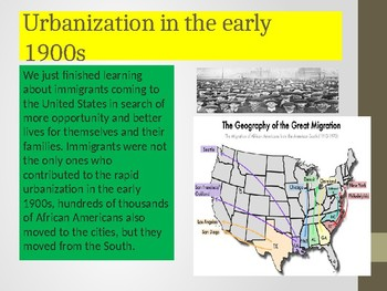 Unit 5 Topic 2 Progress & Change: The Changing Face of Cities....continued