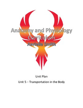 Anatomy and Physiology Unit 5 - Transportation in the Body