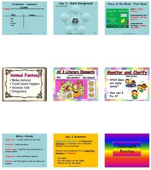 Unit 5 Week 1 - Lesson - Tippy-Toe Chick, Go! - Lesson Bundle (2013, 2011, 2008)